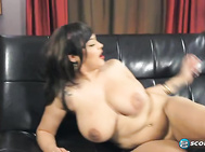 She's just completed her first boy-girl XXX scene at SCORELAND and she is every inch the passionate pussycat.