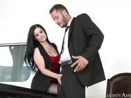 Danny goes to talk to his HR person, Katrina Jade, about how his female co-workers have been groping him.