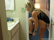 As Nadia enters her home and sees Ryan laid out on the couch asleep, she thinks he has over stayed his welcome.