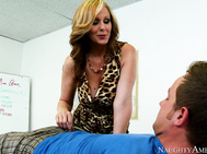 Julia Ann takes her teaching job very serious and makes sure that she leaves no one behind in terms of their education.