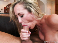 She's been waiting long enough to jam his cock down her throat.
