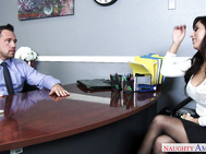 Reena Sky gets called into Johnny's office.