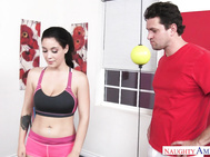 Noelle Easton isn't really fond of working out.