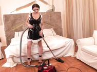 Ukrainian temptress merilyn sekova is here to start off the new month with a little housecleaning.
