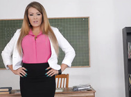 Imagine miss charley atwell as your adult education teacher.