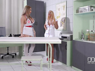 When well-endowed nurses kyra hot from hungary the lighter blonde with 36cs, anastasia sweet, her 34ddd/es from france examine each other in their new big tits porn video, you know the prescription is going to be pleasure.