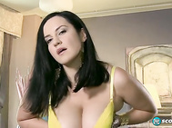 I like to masturbate but not make declarations as I masturbate, says Roxanne Diamonds, meaning she is the quiet type and doesn't talk dirty and urge guys to jack off when they look at her, unlike Maggie Green.