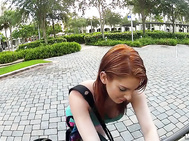 Rainia Belle  - Stranded Redhead Teen Wants That Dick.