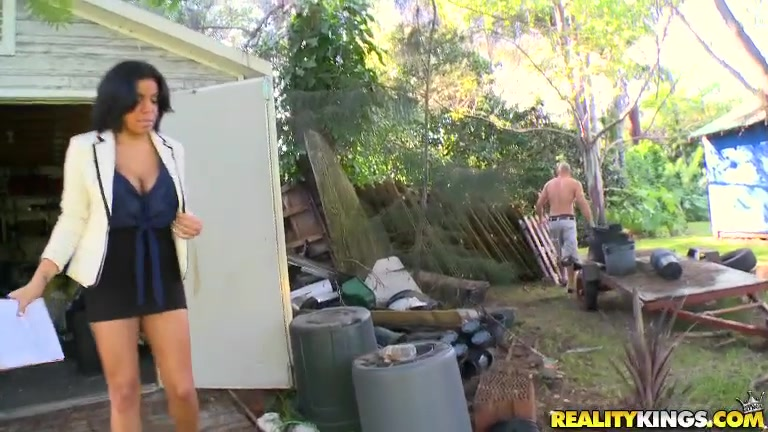 Savana hired Jmac to do some handy work around the yard and it was not working out at all.