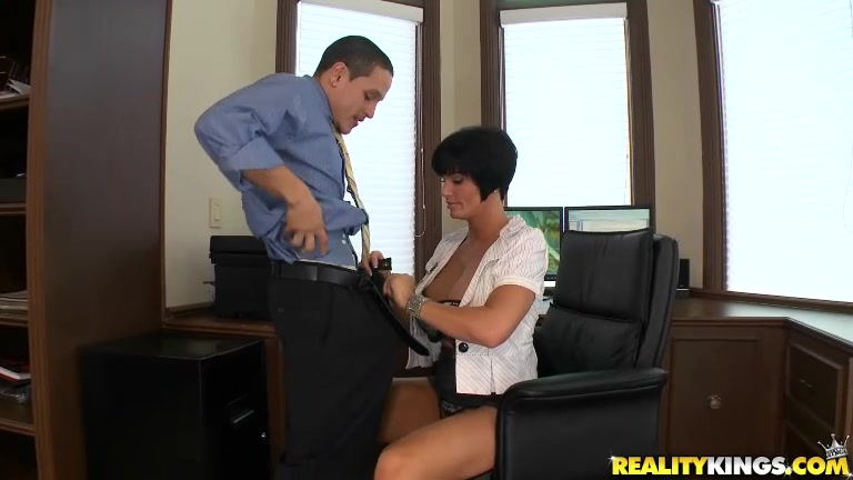 He begged for his job and promised to be the exemplary employee that she wanted.