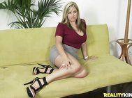 For our latest first time audition Dayna proves to be more than qualified.