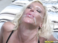 She divorced her husband and wanted cock to please her adventurous ways. Luckily for Hunter he was that cock.