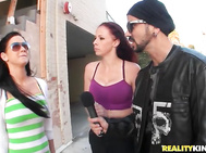 Speaking of hott Gianna Michaels and Voodoo are chilling with Ms.