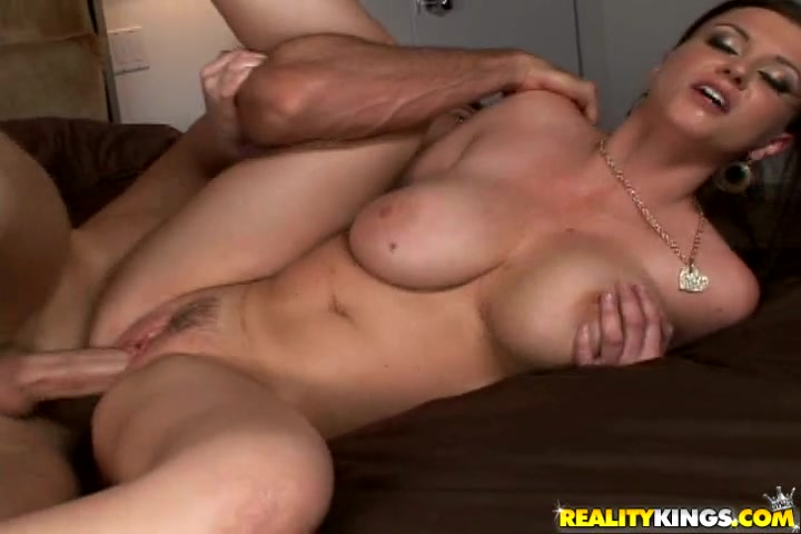Every position she got fucked in, her huge naturals would not stop shaking.