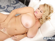 Brittany did her first-ever threesome with two men on SCOREVideos and that was a thriller-driller.