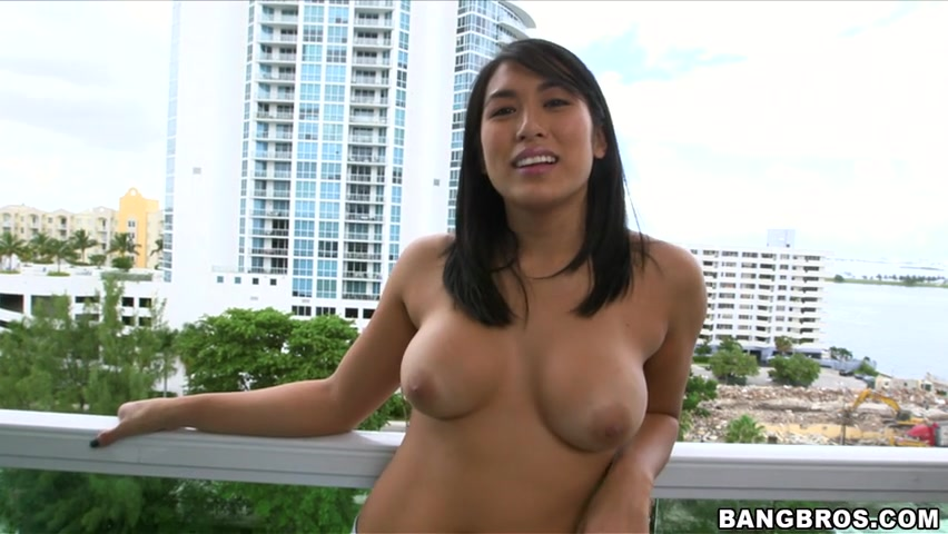 Mia Li is so hot She is one of those natural beauties from the far West that you can just take a look and take a deep breath at how beautiful she is.