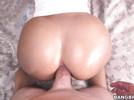 She is ready to show Mr Anal that she can take that big dick all the way in her ass and more.