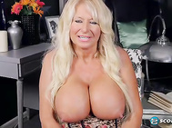 Meet Annellise Croft, an English MILF with big tits who came our way, literally, through a friend of Bea Cummins. 2