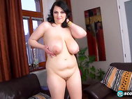 The stacked brunette uses fingers, shower heads or vibrators in her pussy when the mood hits and that's often.