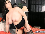 SCORE: Rocky was about to lose his load fucking you from behind so he pulled out to cum. 2