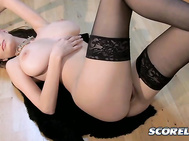 I like to dance, says Brook Ultra, a slim and stacked, pretty and hot, extremely jackable brunette.