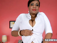Gabrielle Love gets home from her job as a waitress and her voluptuous body is ready to hit that bed. 2