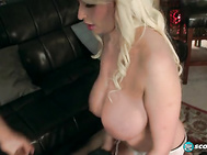 Her dirty mouth fills the room with hot talk about fucking her soft mouth and her tight asshole. 2