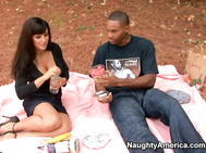 Lisa Ann is a mature woman who likes attention from younger men.