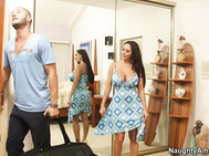 Ava Addams is renting out a room in her home, and when she discovers that her prospective tenant is a British dude, she gets her pussy in a tizzy.