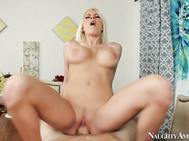 Her hubby is saying no, but she knows how she can change his mind: a good, old-fashioned blowjob.