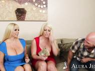 Johnny saved the day when he kept Alura Jenson and Karen Fisher from getting roofied at the club, which is why the two sexy ladies invited him back to their apartment.