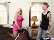 Hot cougar Alura Jenson is renting out one of her many houses.