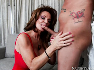 Deauxma catches her son's friend sticking his dick in a sandwich.