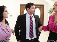 Ava, Bridgette, and Preston are realtors who all got assigned to sell the same house by their boss.