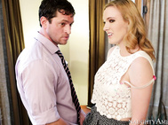 Blake takes her boyfriend Preston back to her dorm so that he can help her study.