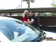 Julia Ann has her valet take her for a joy ride.