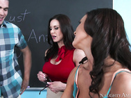 Whitney Westgate and Clover find out a dark little secret about their teacher's, Kendra Lust, personal life.