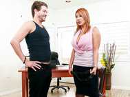 Ava Devine is the Dean at a very prestigious University and she calls Xander in to her office.