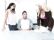 Alura Jenson & Ava Addams have had enough of Johnny's shenanigans, but they made a promise to his parents that they would help Johnny out at school.