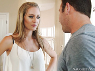 Nicole Aniston's neighbor stops by and she confesses to him that her and her fiancee have split up.