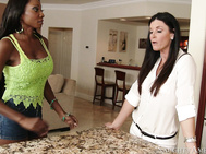 Diamond Jackson & India Summer really want to make sure that their kid's soccer team wins this season so they invite the new referee over to try and persuade him over to their side.