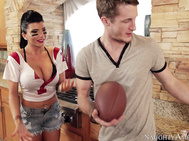 Romi Rain is headed over to watch the football game at her friend's party, but of course her friend isn't there since she dislikes football.