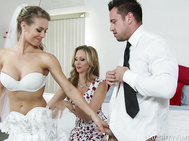 Julia Ann finds out that her stepdaughter, Nicole Aniston, cheated on her husband-to-be before the wedding.