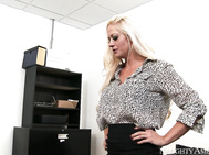 Holly Heart keeps having to talk to an employee about his attire.