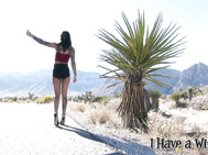 Bonnie Rotten is hitchhiking across America.