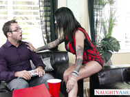Bonnie Rotten meets with the head of the homeowner's association for varies complaints from her neighbors.