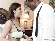 Jovan didn't know he was sent to the house to fuck his boss's wife, he thought he was picking up some paperwork.
