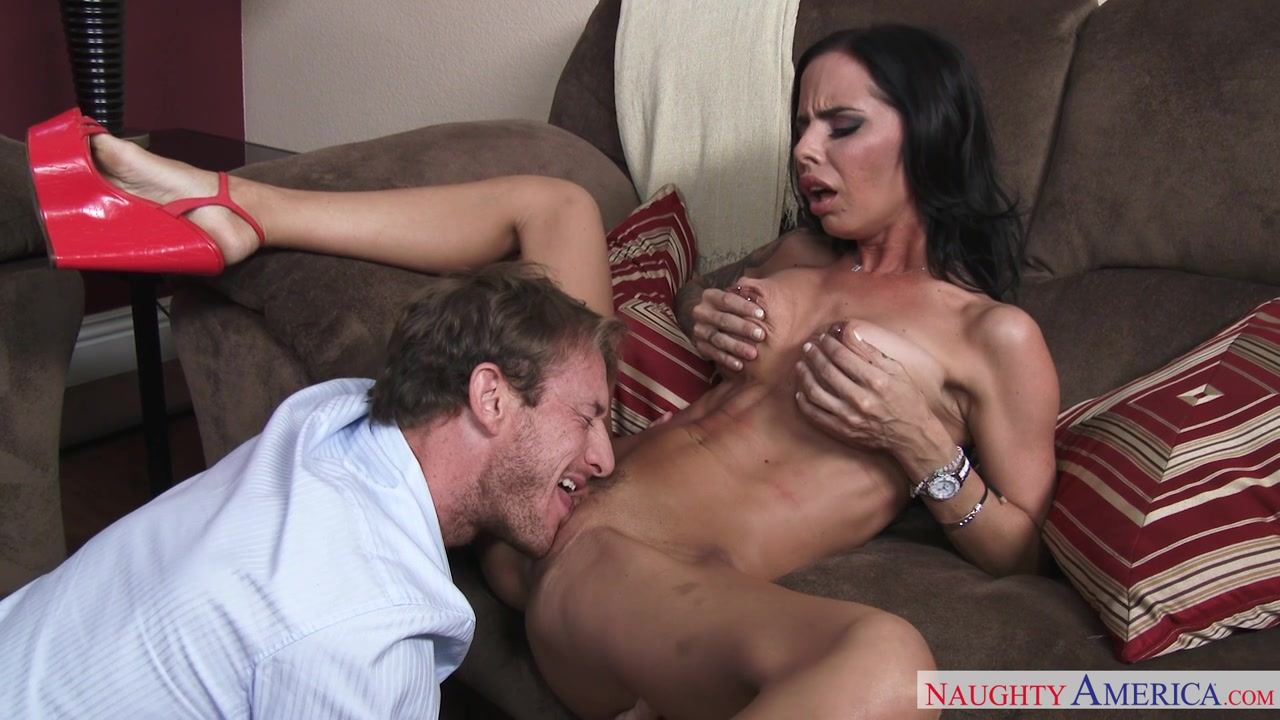 Brandy Aniston knows that her friend's husband, Ryan, is out of work so she proposes a deal.