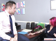 Anna Bell Peaks is interviewing for a new position, but the hiring manager explains that she might not fit in because of all her tattoos.