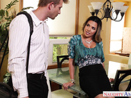 Danica decided to invite her husband's best sales representative Bill into her home while he was away.